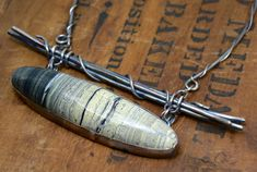 RESERVED Sterling Silver Serpentine Stone Necklace One by joykruse, $725.00