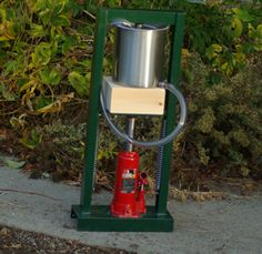 Build your own oil press, yeilds oil and dry nut meal. Oh, wind ...