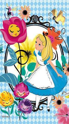 Disney Alice In Wonderland Tea Party Wallpaper Gallery Alice In Wonderland Flowers, Alice In Wonderland Party, Adventures In Wonderland, Alice In Wonderland Background, Alice In Wonderland Artwork, Disney Love, Disney Magic, Disney Art, Disney Pixar