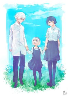 The Second Half of TokyoGhoul:re in October! [Pic Information] Credit to: kaneki_in_. - Shounen And Trend Manga Tokyo Ghoul Tumblr, Tokyo Ghoul Fan Art, Tokyo Ghoul Manga, Manga Anime, Manga Art, Touka Kaneki, Tokyo Ghoul Wallpapers, Familia Anime, Deviantart
