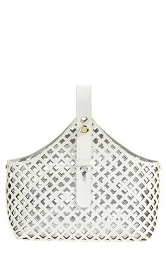 Tory Burch 'Garden' Leather Tote
