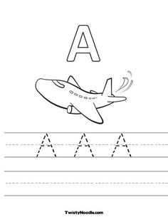 FREE Customizable Printable ABC's Picture and Handwriting Worksheets