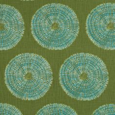 Olive Green Geometric Upholstery Fabric by PopDecorFabrics