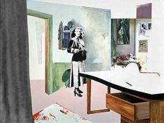 Richard Hamilton's Interior 1, 1964 Andy Warhol, Collages, Collage Artists, Jasper Johns, Marcel Duchamp, Robert Rauschenberg, Roy Lichtenstein, David Hockney, Peter Blake