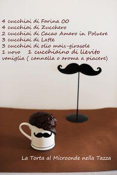 La Torta al Cioccolato da fare al Microonde nella tazza. Non un sogno ma una Meravigliosa Realtà (non per la prova costume) – La Cucina Psicola(va)bile di Iaia & Maghetta Streghetta
