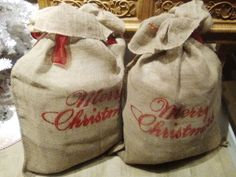 We wish you a Merry Christmas and a Happy New Year! Happy New Year, Burlap, Merry Christmas, Reusable Tote Bags, Happy Holi, Good Things, Noel, Hessian Fabric, Merry Little Christmas