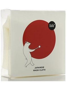 japanese wash cloth - package design