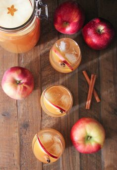 Spiced cider is good. Spiced cider punch with bourbon is great. Consider this festive batch cocktail for all your fall festivities! Apple Cider Whiskey, Apple Bourbon, Spiced Apple Cider, Pumpkin Recipes, Fall Recipes, Party Recipes, Alcoholic Punch, Healthy Cocktails, Bourbon Drinks