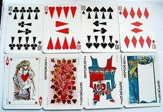 Vintage Playing Cards Silver NON Standard Grimaud LE JEU DE Peintres 52 3J 3   eBay