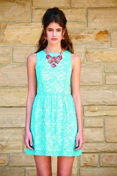 Kensie Combo Lace Dress