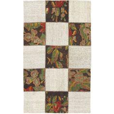 ecarpetgallery Handmade Moldovia Duo Patch Multicolor Wool Kilim Rug