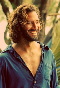 Henry Ian Cusick. Best possible person to be Desmond. I LOVE him.