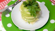 Manzanas verdes a los tres quesos - Receta - Canal Cocina