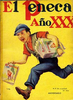 """La muestra """"El Peneca: Un niño centenario"""" se exhibirá en la ... Cool Posters, Travel Posters, Movie Posters, Mario Silva, Centenario, Vintage Magazines, Retro, Vintage Posters, Book Art"""