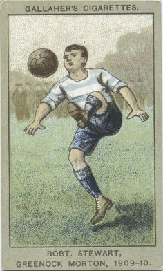 Stewart, Greenock Morton, From New York Public Library Digital Collections. Soccer Cards, Football Cards, Baseball Cards, Sports Baseball, Football Soccer, Greenock Morton, Bristol Rovers, Association Football, Football Stickers