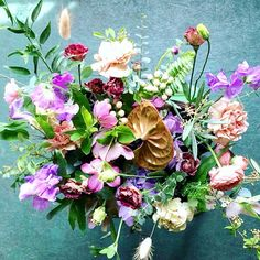 The English Garden - four flower jars delivered in a handmade wooden box Flower Jars, Flowers In Jars, Handmade Wooden, Wooden Boxes, Flower Arrangements, Succulents, Floral Wreath, Bouquet, English