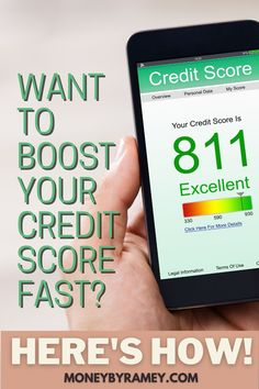 Here are some of the most effective ways to quickly boost your credit score. Click the photo to learn more. #ideas #finance #personalfinance #money #moneymanagement #creditcard #tips #howto #financial #moneyideas #financialplanning Financial Goals, Financial Planning, Money Tips, Money Saving Tips, Managing Money, Get Out Of Debt, Budgeting Finances, Investing Money, Credit Score
