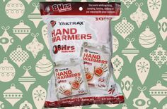 In the middle of winter, hand warmers are a pet sitter's best friend.