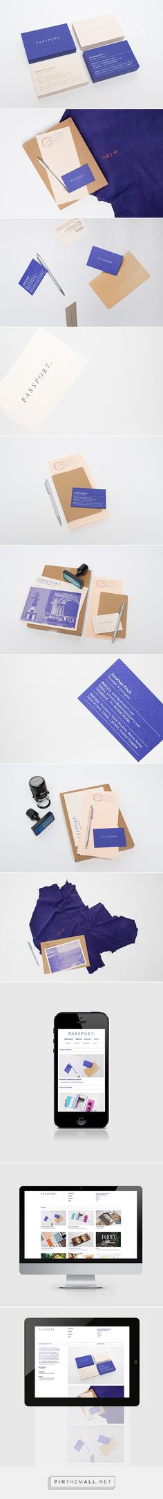 Passport Branding Update on Behance... - a grouped images picture - Pin Them All