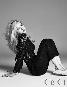 #4Minnute Kim Hyuna for CeCi Sept`15