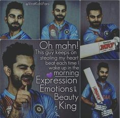 Viratians! This exhibit how we feel doesnt it?