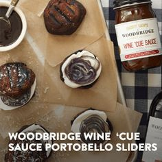 Make the most of summer with this Woodbridge Wine'Cue Sauce Portobello Sliders and other @produceforkids #Produceforkids #SimplySummer