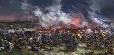 The Battle of Stresow, 1715 from the Great Northern War. A battle that took place during the dark hours between the Swedish army of Carolus Rex and the coalition forces of Saxony, Prussia and Denma...