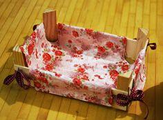 Julekind: Neues Kleidchen für die Mandarinenkiste