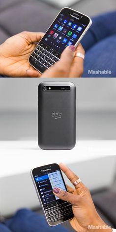 The BlackBerry Classic.