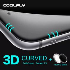 For iPhone 6 Screen Protector 6s plus Tempered Glass 0.2mm 3D Full Cover Curved Edge Protective Film For iPhone 6 Retail Package #clothing,#shoes,#jewelry,#women,#men,#hats,#watches,#belts,#fashion,#style