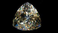 Light of the Desert is the largest faceted cerussite gem in the world.