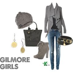 """Gilmore Girls"" by kerogenki on Polyvore"