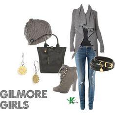 """Gilmore Girls"" by kerogenki on Polyvore"