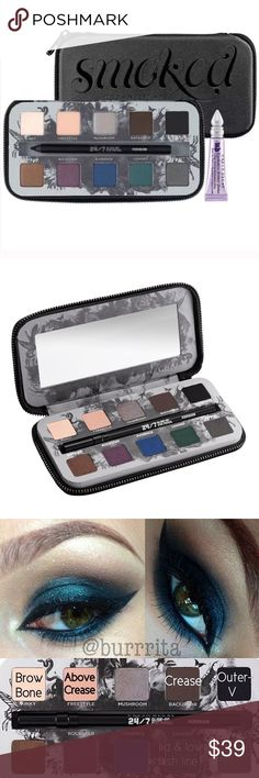 NEW Urban Decay Smoked Palette Eyeshadow New in original packing. With book and eyeliner included. Never used.                                                 ***100% AUTHENTIC*** Urban Decay Makeup Eyeshadow