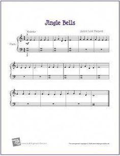 Piano Sheet Music for Beginners | Jingle Bells | Free Sheet Music for Beginner Piano | Flickr - Photo ... Drum Lessons, Singing Lessons, Piano Lessons, Music Lessons, Singing Tips, Piano Sheet Music Pdf, Free Sheet Music, Piano Music, Piano Quotes