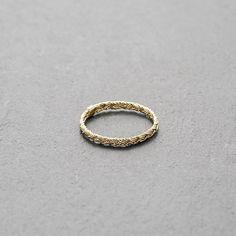 Mount Lavinia Braided Ring Gold - Kinsfolk