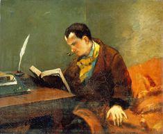 Baudelaire par Gustave Courbet (1848)