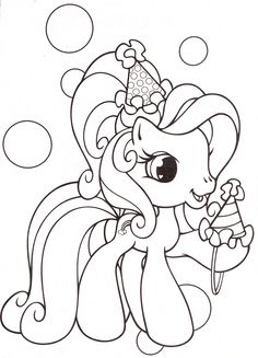 my-little-pony-coloring-pages-15 | par Coloringpagesforkids