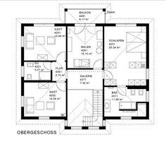 variant 35 235 eg mit einliegerwohnung haus und grundriss pinterest grundrisse. Black Bedroom Furniture Sets. Home Design Ideas