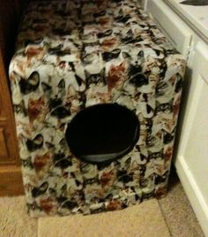 Do you have one or more cats, and a litter box that is seen (and creates dust clouds and smells) more than you would like? We adopted two adorable brother cats and ...