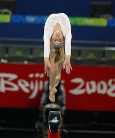 Nastia Liukin American artistic gymnast, she is the 2008 Olympic individual all-around Champion