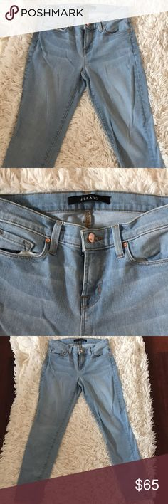 J brand Capri jeans I LOVE J brand these are my favorite jean brand however these are slightly too big for me. I only wore them once! J Brand Jeans Ankle & Cropped