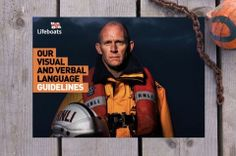 RNLI rebrands with copywriting style that can be modified depending on the target audience of the communications.