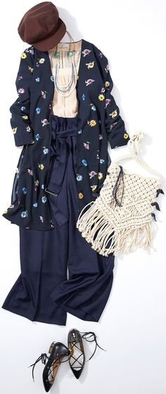 Lesson of the Week: Navy Dress Variation (Lumine Ikebukuro) | LUMINE MAGAZINE