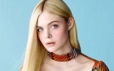 Elle Fanning Colorful Dress - HD Wallpapers - Free Wallpapers - Desktop Backgrounds