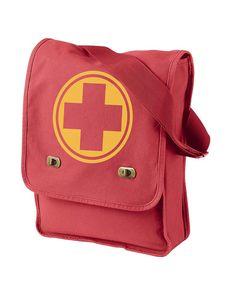 Team Fortress 2 - Class Emblem Field Bag - Choose Your Class Team Fortress 2, Valve Games, Tf2 Memes, Red Team, Herschel Heritage Backpack, Best Games, Overwatch, Halloween, Video Games