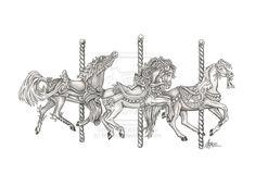 carousel_horses_by_moselys-d499uou.jpg (900×654)
