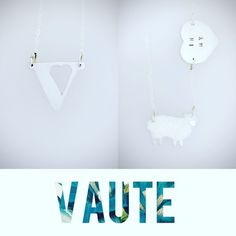💙🌱New shipment of V Necklaces & In My Heart Sheep necklaces are on their way to NYC!  Shop these two designs exclusively at VauteCouture.com or at their flagship location in NYC💋