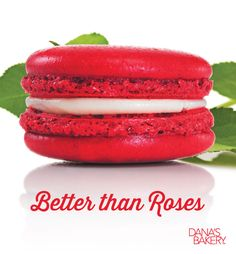 Give her a gift she is certain to love! With its lush red shell and savory cream cheese filling, Red Velvet Macarons are the perfect dessert to steal the show! Dana's Bakery macarons are kosher, gluten free, and shipped fresh nationwide. If you would like to order any of these flavors, please visit our website (www.danasbakery.com) or contact our Customer Service Team by calling (800) 477-1816 / info@danasbakery.com. #macarons