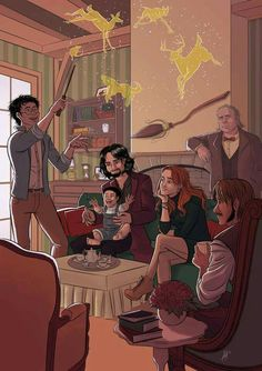 The Marauders, Lily and Harry